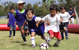 春はハワイでスキルアップ!春のユース・サッカー・キャンプ5日間