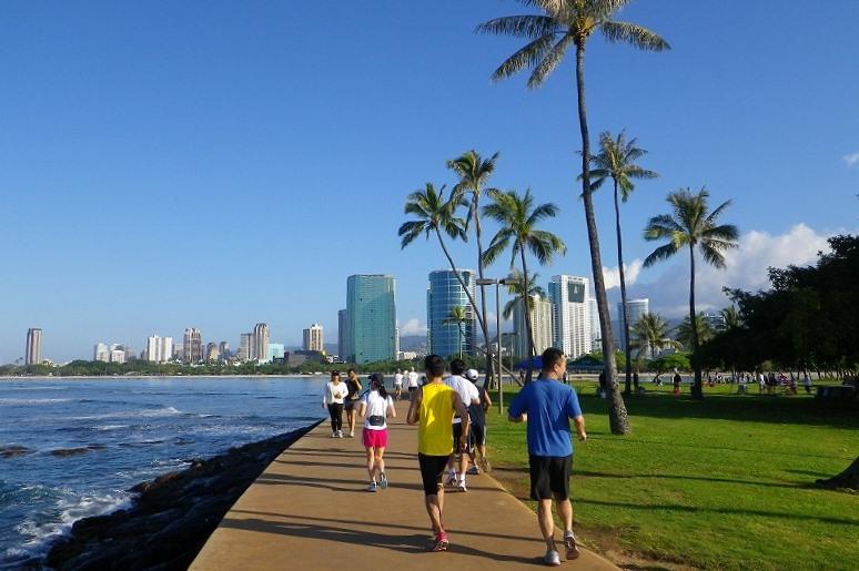 ハワイでランニングを楽しもう Part1